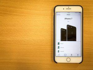 החלפת מסך iphone 7