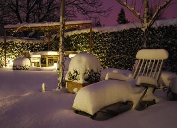 איך שומרים על ריהוט גן בחורף?